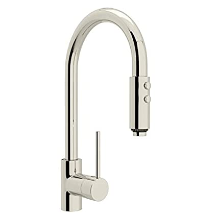 ROHL LS59L-PN-2 KITCHEN FAUCETS, 4.00 x 28.00 x 14.00 inches, Polished  Nickel