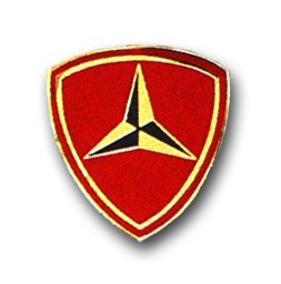 US Marine Corps 3rd Marine Division Lapel ()