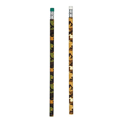 Camouflage Pencils (Military Camo Pencils, 12ct)