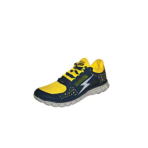 Hermes Bleu-Chaussure sport Foot Jaune Gym Futsal Zeus Running sport Pegashop Football