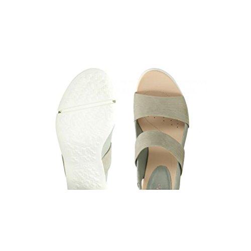 Clarks Imali Verde Para Jasmine Cordones Piel Verde de de Zapatos Mujer rrd4qCwRWx