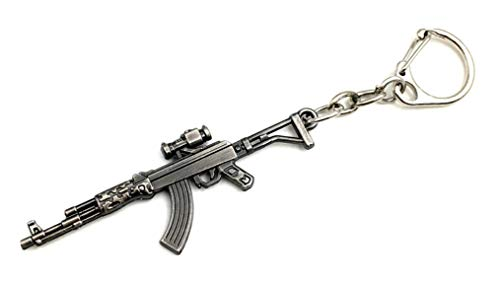 FTH AK47 Gun Weapon Key Chain.Great Gift for a Collector, Military,Law Enforcement,& NRA Supporters