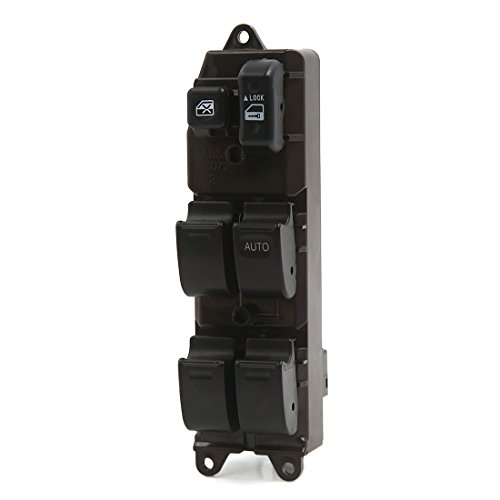 uxcell Electric Power Window Master Switch RHD 84820-0K010 for 2004-2012 Toyota Hilux