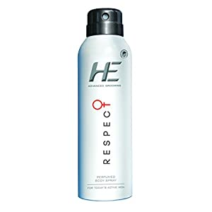 He Advanced Grooming Respect Perfumed Body Spray, 150ml