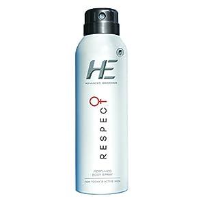He Advanced Grooming Respect Perfumed Body Spray, 150ml