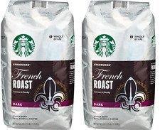 2 Packs of 40 Oz Starbucks French Roast Whole Bean Coffee = 2 x 40 Oz = 80 Oz by Starbucks