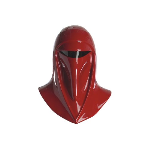Rubie's Star Wars Adult Supreme Edition Imperial Guard Helmet, Red, One Size Costume (Imperial Royal Guard Costume)