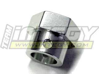 Integy RC Model Hop-ups T7005S Billet Machined Alloy Brake Disk Hub for HPI Savage-X, 21 & 25