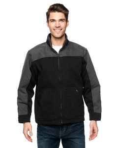 - DRI DUCK 5089 - Horizon Two-Tone Cotton Canvas Jacket