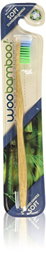 WooBamboo Toothbrush Standard Handle Soft Single