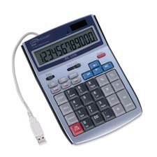 Compucessory 12-Digit Display Calculator with USB Port