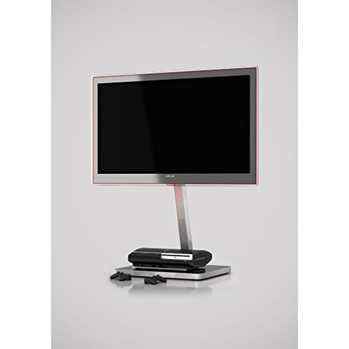 """SONOROUS PL-2700 Modern TV Floor Stand with Mount/Bracket for Sizes up to 65"""" (Aluminum Construction)"""