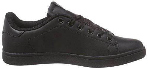 KangaROOS K-class-x Kids Lace - Zapatillas Unisex Niños Negro - negro (negro 500)