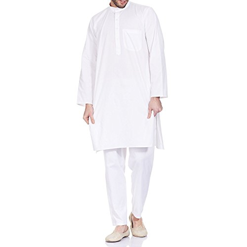 ShalinCraft Mens Yoga Clothes Cotton Kurta Pyjama Chest :...