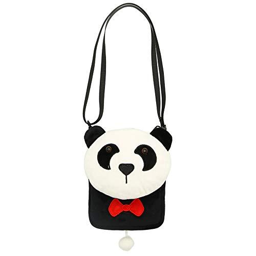 spalla per Borsa Borse felpa ragazze Borse XLXWJJILY e a principessa Bello mano panda animato tracolla a cartone a 0wqtII6xPT