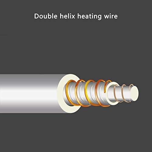 QQJL Doppelte große Heizdecke, schnelle Wärme und wasserdichte Heizdecke, automatische Abschaltfunktion, Einfach beheizte Heizdecke