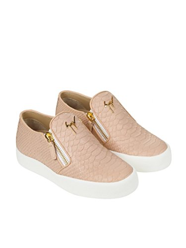 Donna MC Slip DESIGN Rosa Pelle Sneakers ZANOTTI GIUSEPPE RS7006001 On vUwZ0F