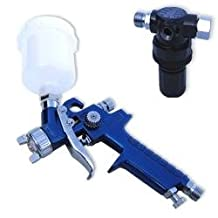 Mini HVLP Air Spray Gun w/ Gauge