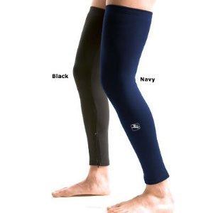 Roubaix Leg Warmers - Giordana Super Roubaix Leg Warmers - Black - GI-LEGW-SURO-BLCK (XS)