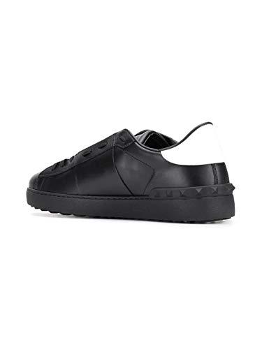 Ry2s0830xzu0ni Valentino Uomo Nero Garavani Sneakers Pelle Zxxq7AH