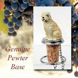 1 X Soft Coated Wheaten Terrier Dog Wine Bottle Stopper -