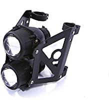SpeedMotoCo 52mm 53mm Motorcycle Projector Headlight Streetfighter Cafe Racer Naked Sportbike Streetfighter