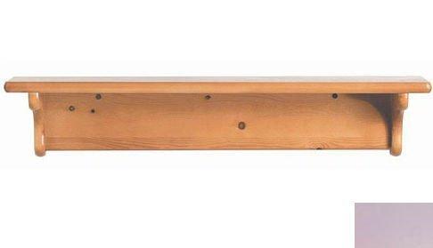 Kid's Single Wall Mounted Shelf (Lavender)