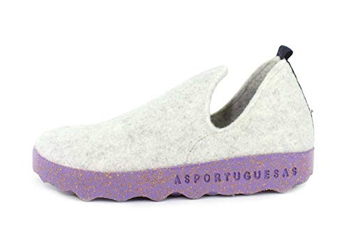 On Slip Asportuguesas Womens Tweed City Sneaker Offwhite wBvtvIq