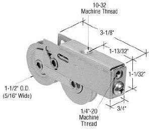 3/4 Steel Door - CRL 1-1/2