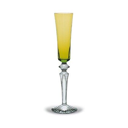 Baccarat Crystal Mille Nuits Flutissimo Olivine Flute (Olivine Jewel)