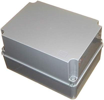 Caja de conexiones impermeable de 300 mm de profundidad con tapa ...