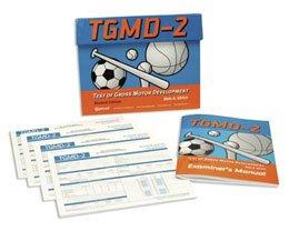 Manual ONLY for Test of Gross Motor Development (TGMD-2) by Sammons Preston