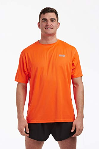 """time to run Men's Favourite Short Sleeve Running/Gym.Workout/Fitness T Shirt Top Small 38""""- 40"""" Orange from time to run"""
