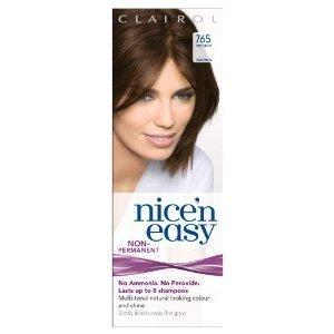 Clairol Nice N' Easy Hair Color #765, Medium Brown (Pack of 6) Uk Loving - Colors Uk