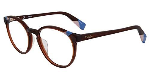 Eyeglasses Furla VFU 251 Brown 0958