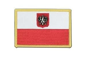MaxFlags® écusson brodé drapeau Pologne avec aigle 6x8cm