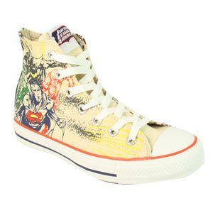 ae6a3b089468 Converse All Star Hi DC Comics Justice League Angora Estate Blue Shoe  132440 (UK3