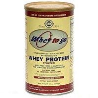 Solgar - vanille en poudre de protéines de lactosérum naturel, 32 oz de poudre