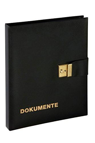 Pagna 30503-01 - Dokumentenmappe DIN A4, Kunstleder, schwarz