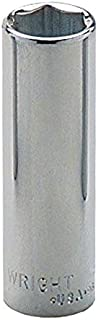 """product image for Wright Tool 25-06MM 1/4"""" Drive 6 Point Deep Metric Socket, 6mm"""