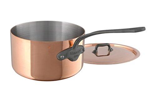 Mauviel M'Heritage M150C 6450.19 Copper Saucepan with Lid...