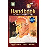 Swamy's Handbook - 2020 English Edition for Central Government Staff