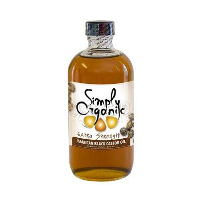 Simply Organic Oils 8 Ounces Extra Strength Jamaican Black Castor Oil