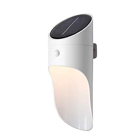 Solar de microondas LED Lámpara de pared, Lámpara de jardín con ...