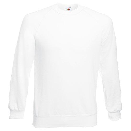 Homme Blanc Loom shirt Sweat Of The Sweatshirt Fruit Raglan qxpzZAnw