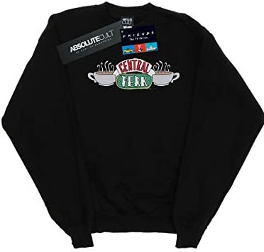 Absolute Cult Friends Herren Central Perk Sketch Sweatshirt Schwarz Medium