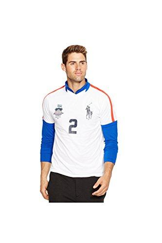 Polo Sport USA Jersey T-Shirt (Medium) Pure White