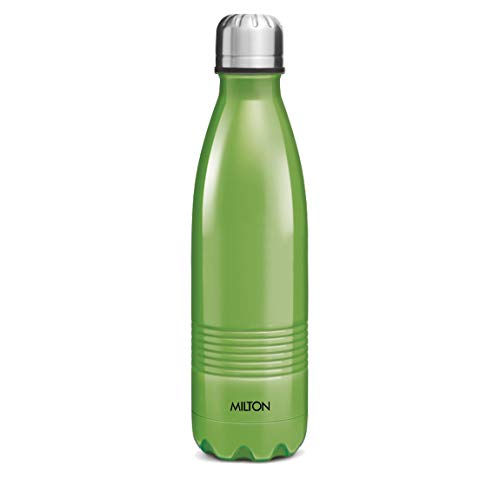 Milton Insulated Steel Bottles Thermosteel Duo DLX 1000 ml Green