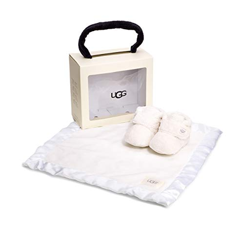 UGG Baby I I BIXBEE and Lovey Gift Set Vanilla 2/3 M US Infant ()