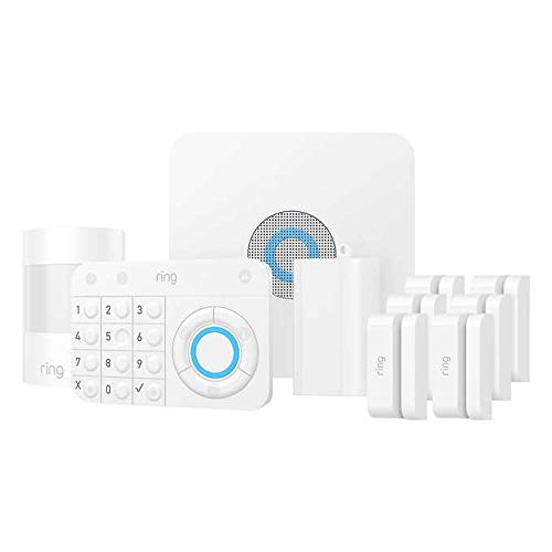 Ring Alarm  Home Security System with Optional 24/7 Professional Monitoring  10 Piece kit Works with Ring Video Doorbells or Cameras